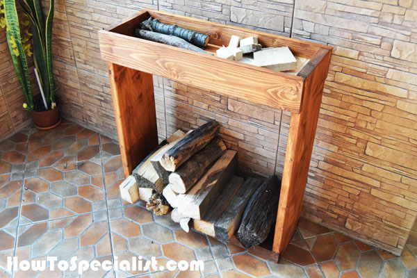 How To Build an Indoor Firewood Rack : HowToSpecialist ...