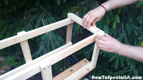 Assembling-the-plant-stand