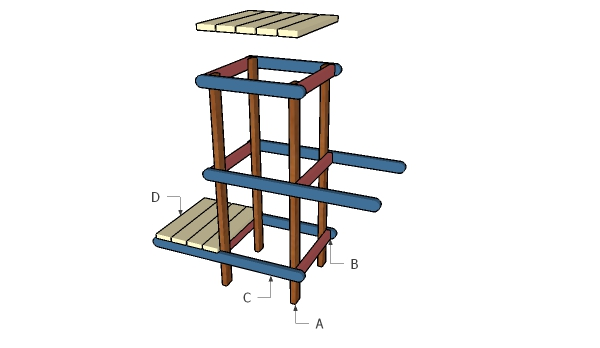 Building an indoor plant stand