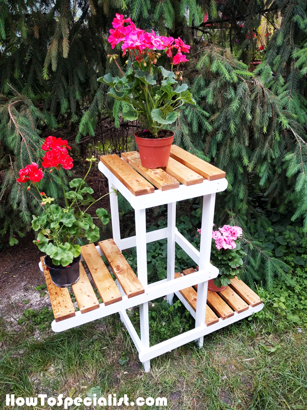 How To Make A Plant Stand Howtospecialist How To Build