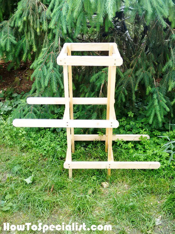Frame-of-the-plant-stand