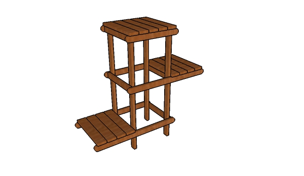 How to make a plant stand howtospecialist how to build How to build a tiered plant stand