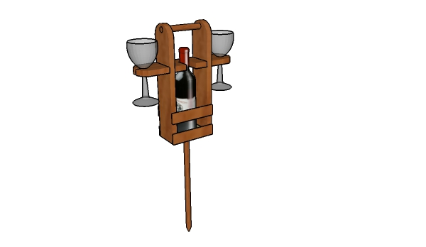 Picnic wine caddy plans