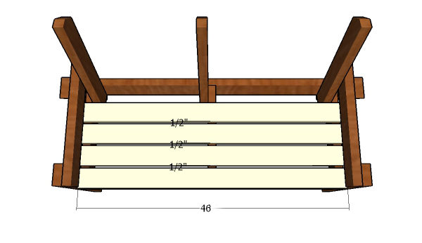 Attaching-the-seat-slats