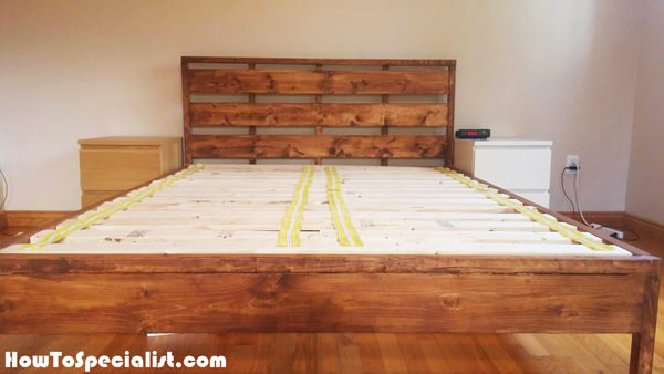 Queen Size Platform Bed Plans. Image Of Platform Bed With ...