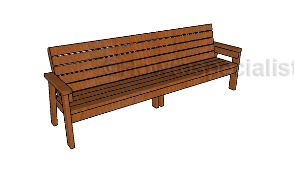 Strange 8 Ft Bench Plans Howtospecialist How To Build Step By Andrewgaddart Wooden Chair Designs For Living Room Andrewgaddartcom