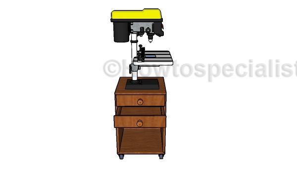 Build a drill press stand