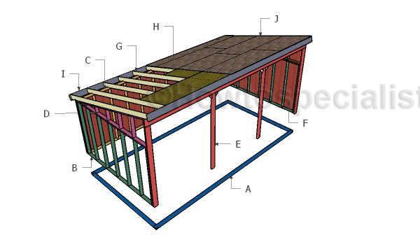 Building a 12x24 loafing shed