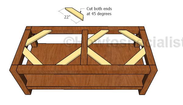 Building the tabletop braces