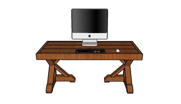Farmhouse Desk Plans