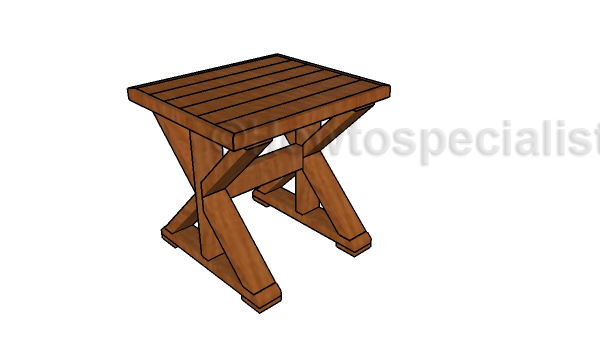 small farmhouse table plans howtospecialist how to build step by