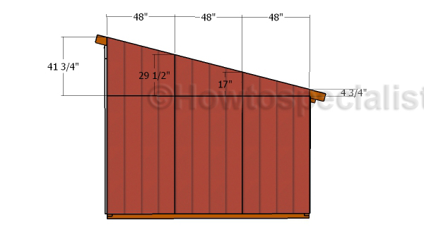 Loafing Shed Roof Plans Howtospecialist How To Build