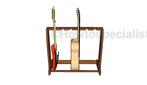 Multi Guitar Stand Plans