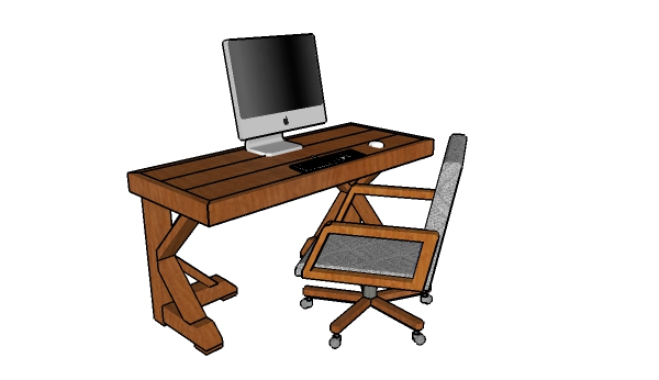 Farmhouse Desk Plans Howtospecialist How To Build Step By Step Diy Plans