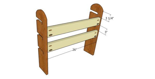 assembling-the-skateboard-rack