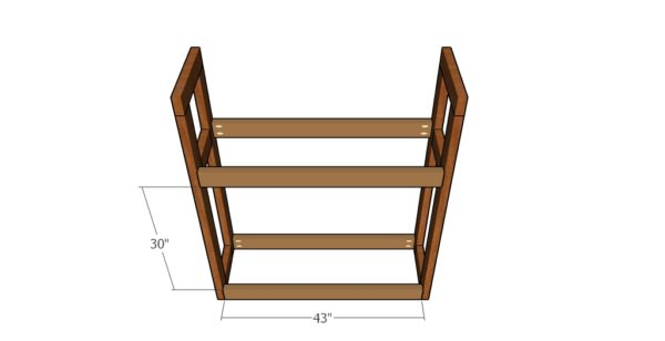 diy tire rack plans howtospecialist   build step  step diy plans