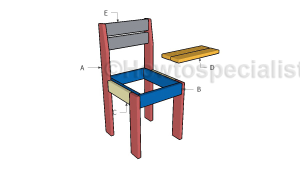 Building a kids chair