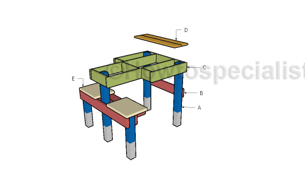Shooting Table Plans Howtospecialist How To Build