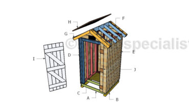 Building a wooden smokehouse