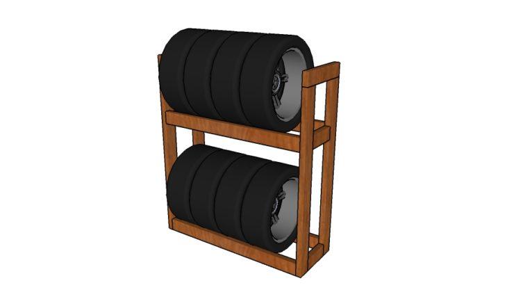 diy-tire-rack-plans