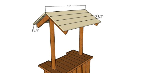 Tiki Bar Roof Plans Howtospecialist How To Build Step