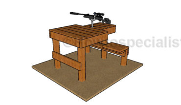 Shhoting table plans free