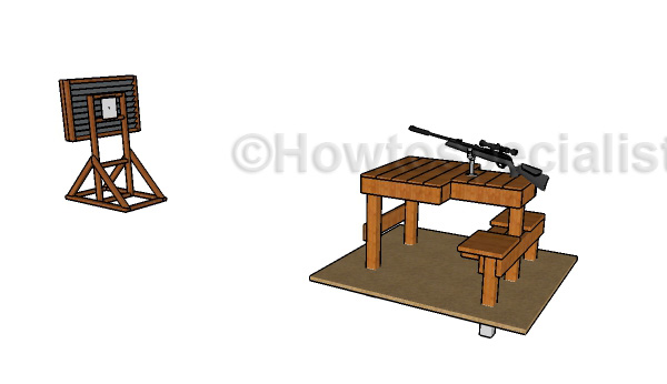 Shhoting table plans