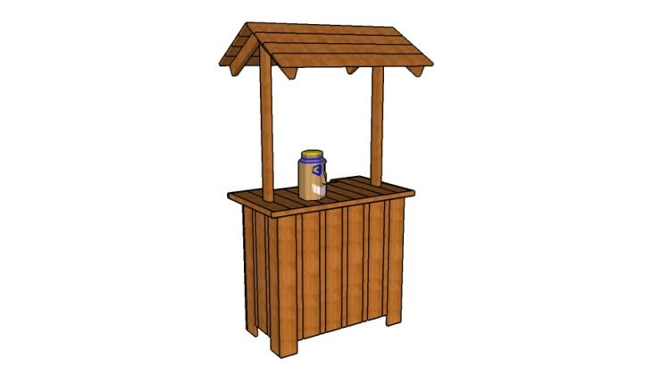 free tiki bar plans howtospecialist how to build step