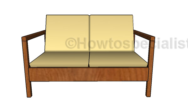 Wooden Loveseat Plans