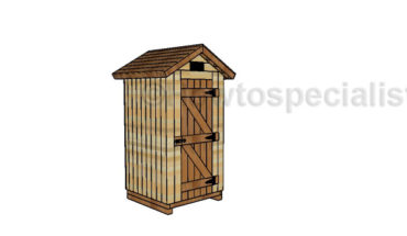Wooden Smokehouse Plans