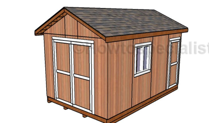 10 16 Shed Plans