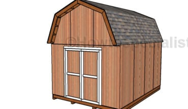 12x16 Gambrel Shed Plans