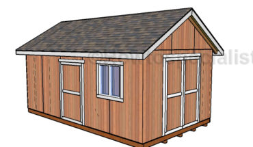 12x20 Shed Plans