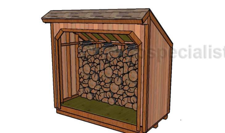 4 8 Firewood Storage Shed Free Plans