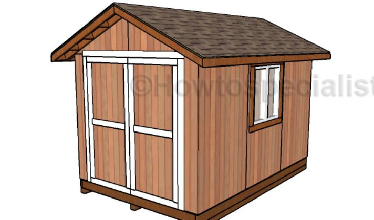 8x12 Shed Plans HTS