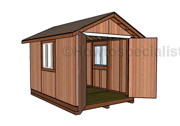 8x12 Storage Shed Plans