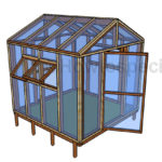8×8 Greenhouse Plans – Step by Step Guide