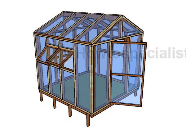 8x8 Greenhouse Plans