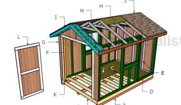 Building a 8x12 garden shed
