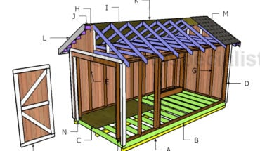 Building a 8x16 shed