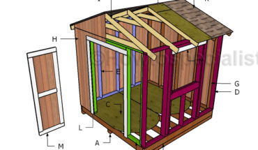 Building a 8x8 garden shed