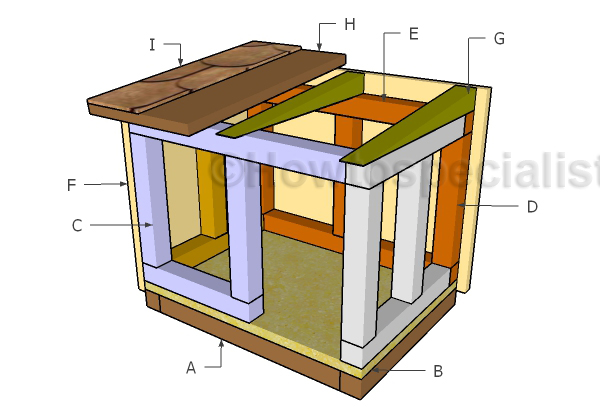 Outdoor Cat House Plans HowToSpecialist How to Build Step by
