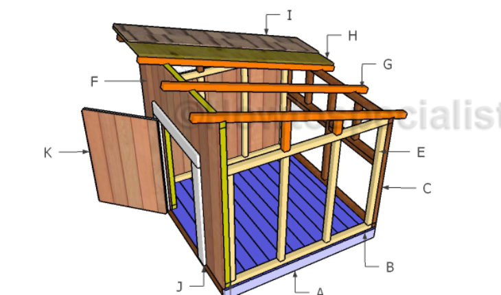 duck house roof plans howtospecialist how to build