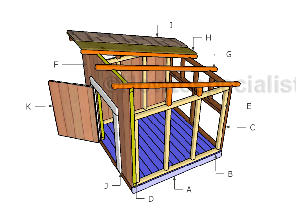 Building a diy duck house
