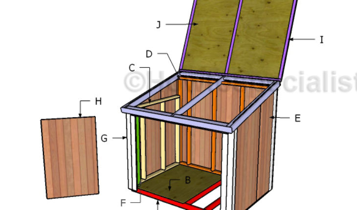 Building a generator shed