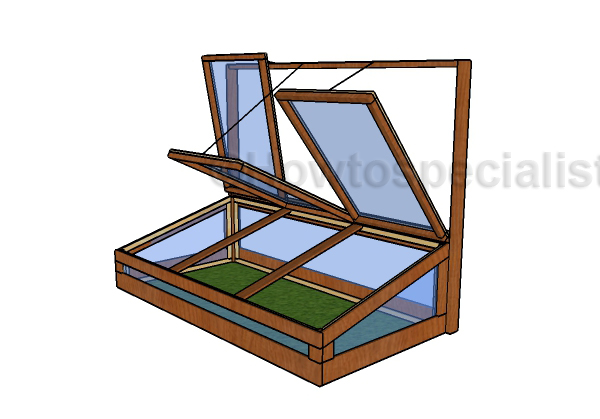 Building a large cold frame