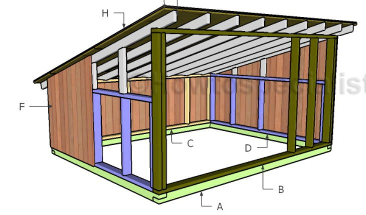 8x10 Pig House Roof Plans | HowToSpecialist - How to Build ...