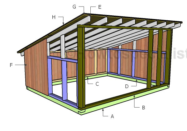 Pig House Plans | HowToSpecialist - How to Build, Step by