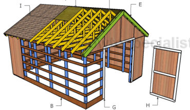 How to build a 12x16 shed howtospecialist how to build for How to build a pole shed step by step