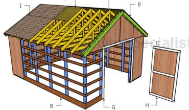 Building a pole barn